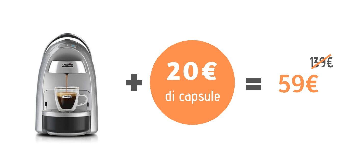 Campagna prozionale Caffitaly. Diadema 59€