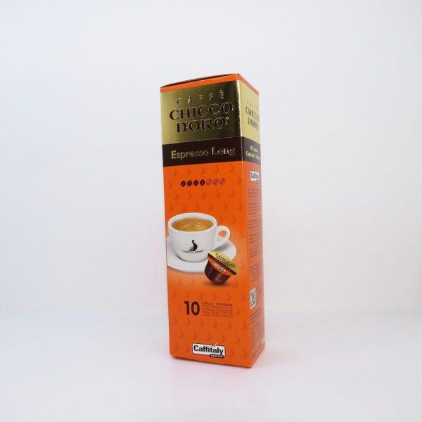 Confezione da 10 capsule di caffè Chicco d'oro Espresso Long