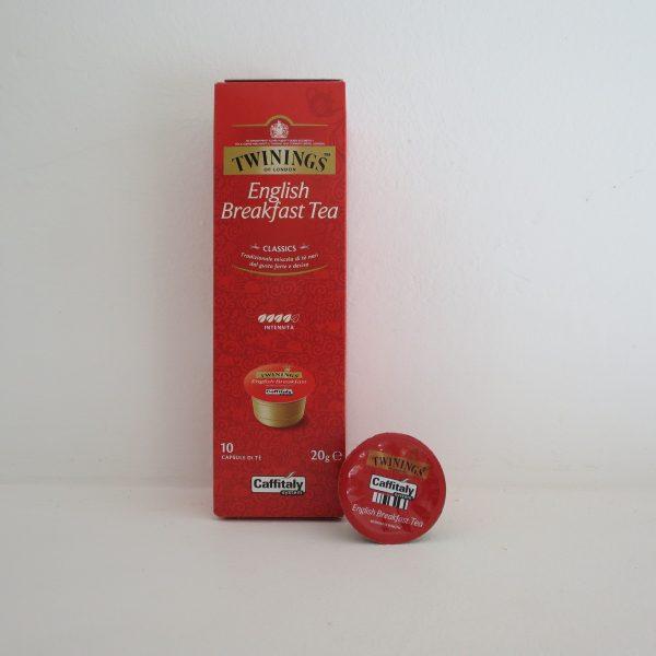 Confezione da 10 capsule di tè Twinings English Breakfast
